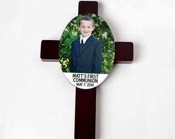 First Communion Cross - Custom Communion Gift  - Personalized Communion Cross - First Communion Gift Personalized Cross