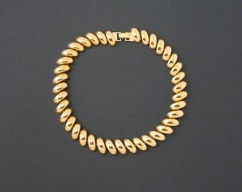 Vintage Napier  San Marco Chain Necklace  Patent 4774749