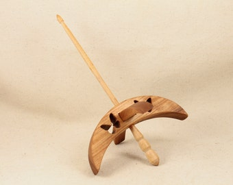 Butterfly Turkish Drop Spindle 5 inch arms 8 inches tall