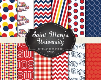 St. Marys University digital papers - 12x12 and 8.5x11 300 dpi
