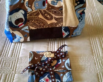 Two Designs -  Accessory Bag and Organizer or Purse Organizer -