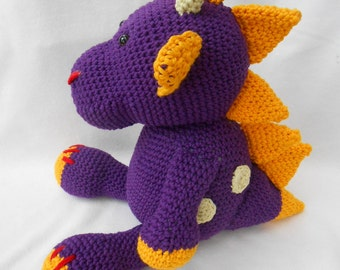 Häkeltier: Dragon Drago