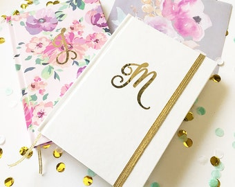 Monogram Journal Personalized Notebook Monogram Notebook Personalized Notebook Bride Journal Mothers Day Gift (EB3191SM)