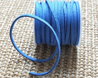3mm Suede flat cord