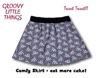 Tweet Tweet!!  Comfy Skirt