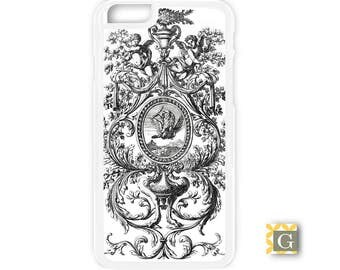 Galaxy S8 Case, S8 Plus Case, Galaxy S7 Case, Galaxy S7 Edge Case, Galaxy Note 5 Case, Galaxy S6 Case - Antique French Design II