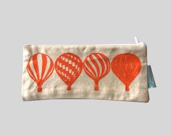 Pencase; Hot Air Balloons