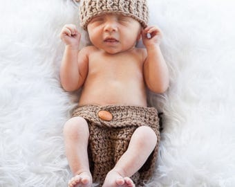 Baby Bear Newborn to 3 Months Photography Prop
