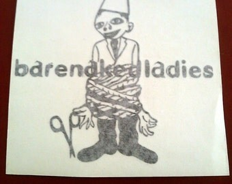 """Bare Naked Ladies 6""""x6"""" Window Sticker Decal"""