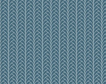 Odette by Hawthorne Threads - Tendu in Lake | PRINT-TO-ORDER | Quilting, Sewing, Home Decor supplies