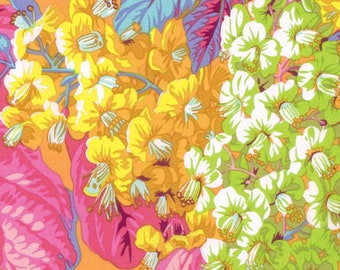1/2 Yard Horse Chestnut in Yellow by Philip Jacobs fabric PJ084