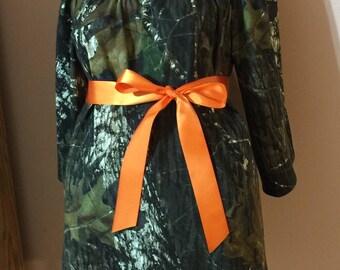 Camo RealTree Mossy Oak Break Up Peasant Maternity Tunic Women Lady Size xxs XS s m l xl xxl 2xl 3xl Cotton knit camouflage summer