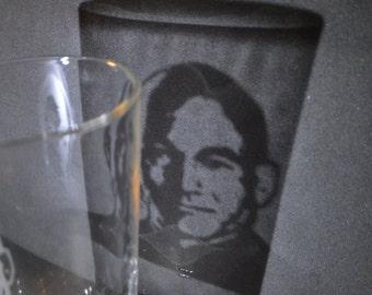 Star trek Jean-Luc Picard engraved pub