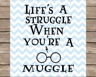 Harry Potter svg, Hogwarts svg, Hogwarts, Harry Potter svg files, Muggle svg, Muggle, Muggles, Harry Potter, Harry Potter Vector, svg file