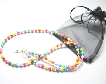 Handcrafted Fiesta Spectacle Glasses Chain / Necklace