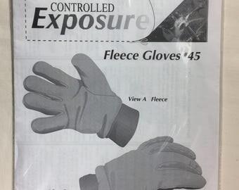 Sundrop Fleece Glove Pattern #45 Master Sewing Pattern
