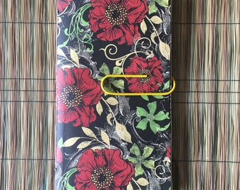 Traveler's Notebook Insert - Poppies