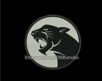 Panther Embroidery Design - 6 Sizes - INSTANT DOWNLOAD