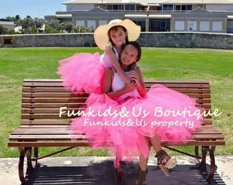 Mommy and Me Matching Tutu Set  - Any Color-  Adult Tutu- Mother and Daughter outfits
