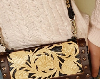 Clutch Wallet with Adjustable Strap- Made to Order