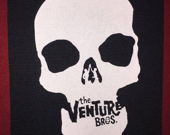 Venture Bros Cloth Punk Patch