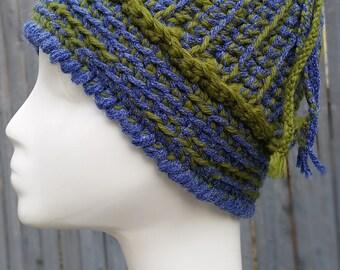 Vintage Crochet Hat - Novelty Hat - Warm Hat 1-104