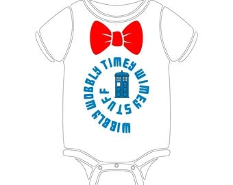 Dr. Who Timey Onesie!