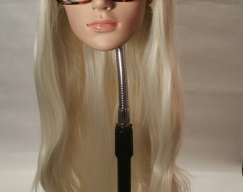 Beautiful blonde synthetic lace front wig