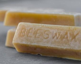 100% Pure & Natural Beeswax Bars