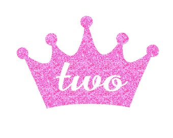 Baby Birthday Crown TWO