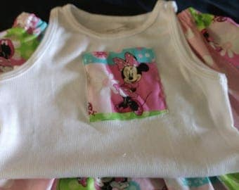 Minnie Mouse Twirl Skirt set Size 2