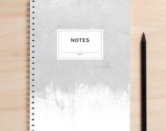 "Notebook ""Notes01 Beton"" A5"
