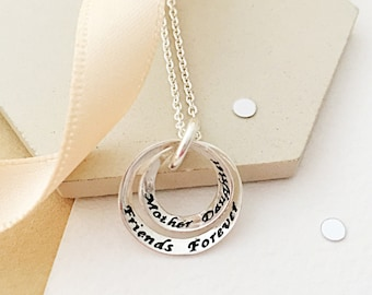 Mother, Daughter necklace - gift for mum - mother's day gift - gift for daughter - mum necklace - mum gift - mother and daughter gift - mum