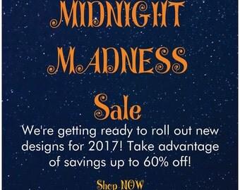 Girls  Sunglasses Onesie, Girls Bodysuit, Midnight Madness Sale