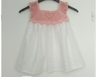 Small dress heart size 2 / 3 years