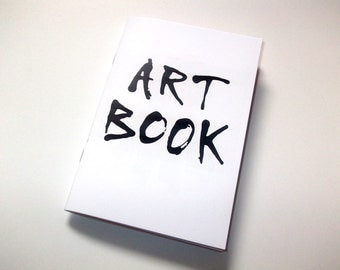Art Book A6 size 44 page booklet