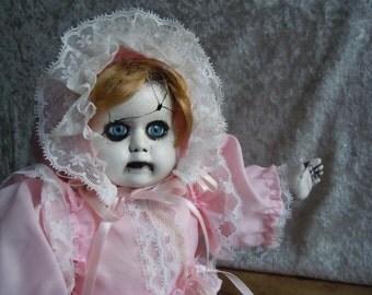 Creepy Crawling Baby Doll