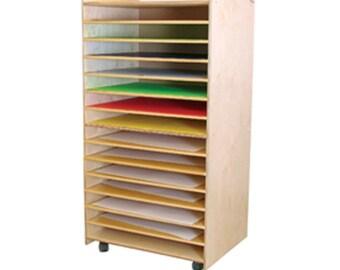 Art Supply Storage, Art Supply Organizer, Paper Storage, Puzzle Storage