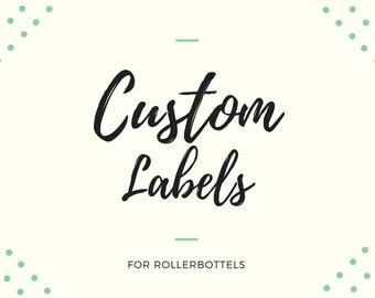 Custom Roller Label