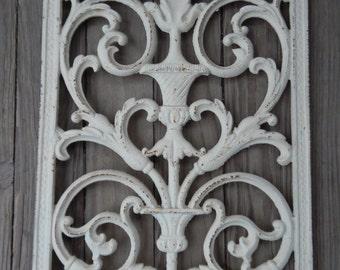 Pretty Cast Iron Decorative Grate/Wall Decor!