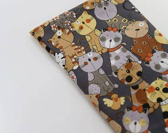 Cute Cats Pattern Cotton Fabric by Yard