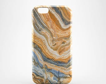 Agate marble 3D case Apple iPhone 4 5 6 7 Samsung Galaxy S6 S7 #06