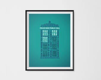 Type 40 TARDIS Typography