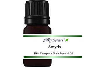 Amyris Wild Crafted Essential Oil (Sandalwood West Indian - Amyris Balsamifera) 100% Pure Therapeutic Grade