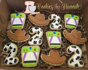 Toy Story Cookies - One Dozen