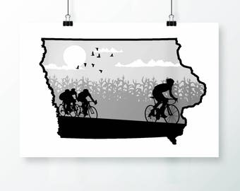 Iowa Screen Print