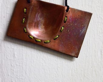 NECKLACE: Handmade Chunky Copper Necklace FREE SHIPPING