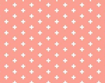 Dear Stella Positive Sienna cotton fabric