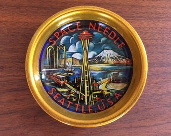 Seattle Space Needle Souvenir Tray