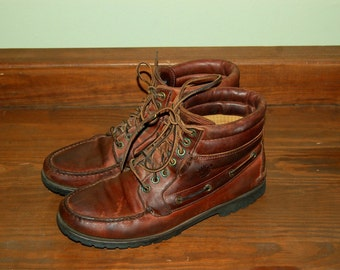 Men Size 10 1/2 Vintage Timberland Ankle Hiking/Work Boots